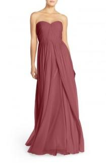 wedding photo - Jenny Yoo Mira Convertible Strapless Chiffon Gown