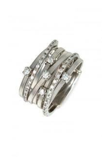 wedding photo - Marco Bicego 'Goa' Seven Band Diamond Ring