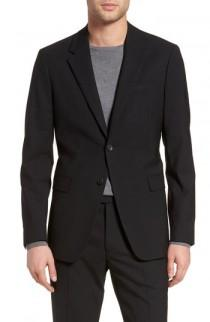 wedding photo - Theory Chambers Slim Fit Stretch Wool Blazer