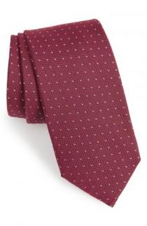 wedding photo - BOSS Dot Silk Tie