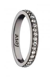 wedding photo - Monica Rich Kosann Love White Sapphire Ring