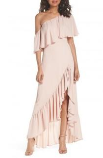 wedding photo - Show Me Your Mumu Tango Ruffle Gown