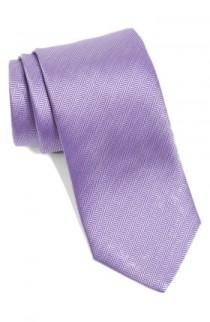 wedding photo - Eton Herringbone Textured Silk Tie
