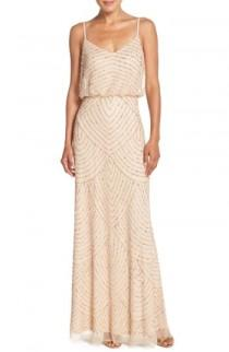 wedding photo - Adrianna Papell Embellished Blouson Gown (Regular & Petite)