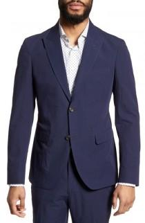 wedding photo - Strong Suit Volante Seersucker Suit Jacket
