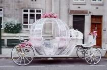 wedding photo - Fairytale Wedding Car ♥ Dream Wedding Ideas