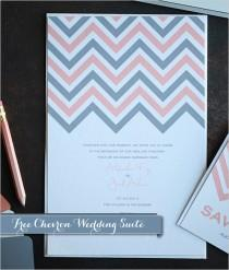 wedding photo - Free Chevron Printable
