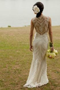 wedding photo - Chic Special Design Wedding Dress ♥ Lace Wedding Dress