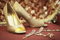 wedding photo - Chaussures de mariage Sparkly