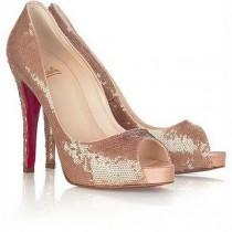 wedding photo -  Christian Louboutin Wedding Shoes  Chic and Comfortable Wedding Heels
