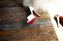 wedding photo -  Christian Louboutin Wedding Shoes with Red Bottom  Chic and Fashionable Wedding High Heel Shoes | Yuksek Topuk Abiye Ayakkabi