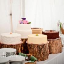 wedding photo - Rustic Wedding Cakes