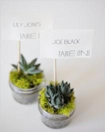 wedding photo - Unique Wedding Table Anzahl ♥ DIY Tabelle Numbers