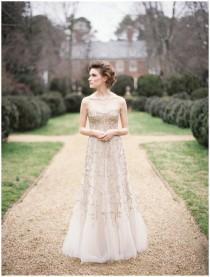 wedding photo - Luxry robe de mariage de conception spéciale