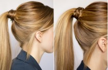 wedding photo - Gorgeous Ponytail Hairstyles ♥ Braided Wedding Hairstyles