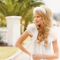 wedding photo -  Cute Wedding Hairstyle   Wavy Wedding Hair