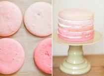 wedding photo - Yummy Hommade Wedding Cake ♥ Pink Ombre Wedding Cake