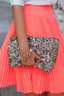 wedding photo -  So Chic Clutch
