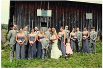wedding photo -  Silver Wedding Color Palettes