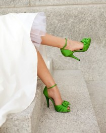 wedding photo - Chic und komfortable Brautschuhe