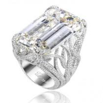 wedding photo -  Luxury Diamond Ring | Ozel Tasarim Pirlanta Yuzuk