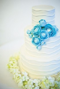 wedding photo - Fondant Wedding Cakes ♥ Hochzeitstorte Design