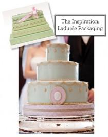 wedding photo - Le gâteau de mariage