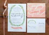 wedding photo - Wedding Invitations We Love