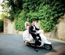 wedding photo - Getaway Car