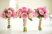 wedding photo - Wedding Table Decor - Floral Decor
