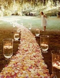 wedding photo - Wedding Aisle Decoration Ideas