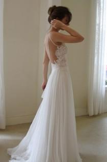 wedding photo - Simple & Chic spéciales robes de mariée robe de conception ♥ Special Design
