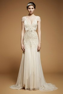 wedding photo -  Chic Special Design Wedding Dresses ♥ Vintage Wedding Dresses