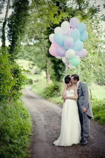 wedding photo - Cute Wedding Photography ♥ Land-Hochzeits-Foto Idea
