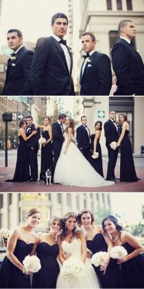 wedding photo - Black and White Wedding Photography Ideas ♥ Professional Wedding Photos
