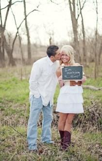 wedding photo - Funny Engagement Photography ♥ Creative Engagement Photography