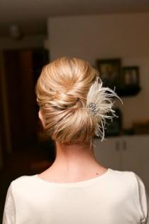 wedding photo - Acconciature da sposa semplici ♥ Wedding Updo Acconciatura
