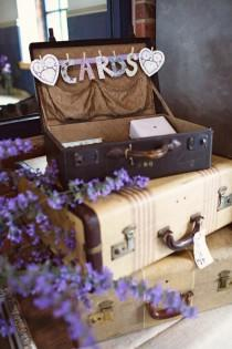 wedding photo - Vintage Wedding Guest Box