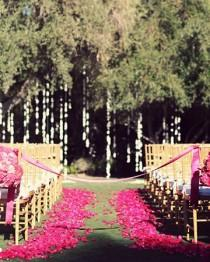 wedding photo - Boda Ideas Decoración Pasillo