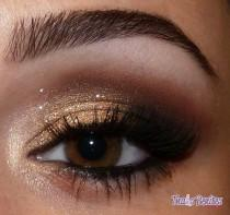 wedding photo - Maquillage de mariage - Smokey maquillage