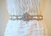 wedding photo - Weinlese-Braut-Accessoires ♥ Gorgeous Hochzeit Braut Sash