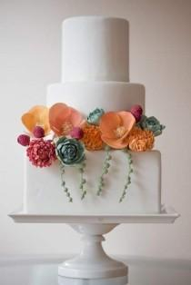 wedding photo - Cute Wedding Cakes