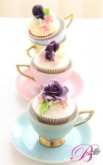wedding photo -  Wedding Cupcake - Sweet Inspiration