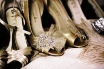wedding photo - Chaussures de mariage - Talons satin