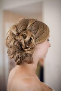 wedding photo -  Chic Wedding HairStyles ♥ Wedding Hair Inpspiration
