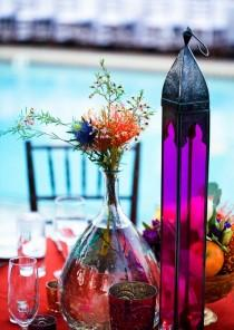 wedding photo -  Bohemian Wedding Table Decoration Ideas | Farkli Dugun Masasi Dekorasyonlari