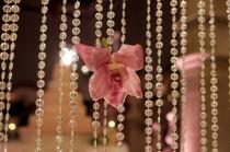 wedding photo - Wedding Decor with Crystals and Orchids