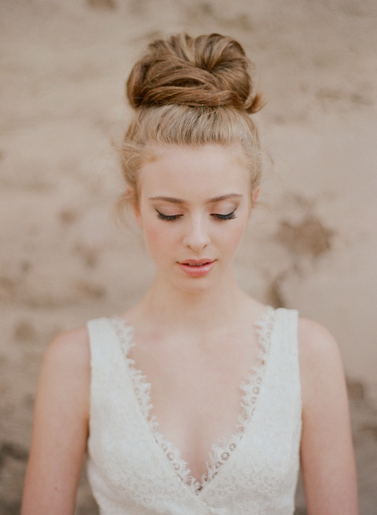 sleek bun hairstyle