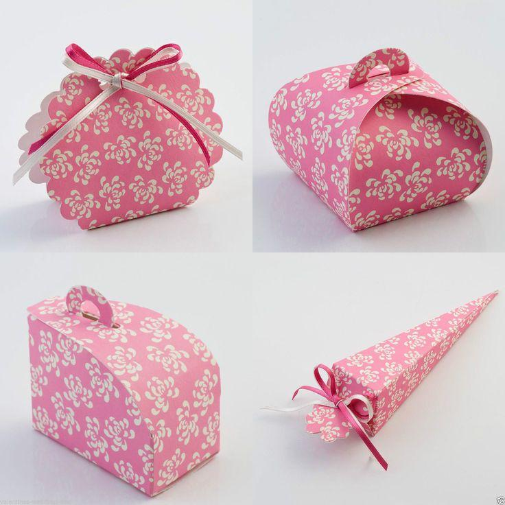 Best Quality Diy Vintage Pink Wedding Party Favour Favor Bo