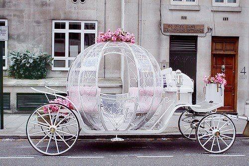 Fairytale Wedding Car Dream Ideas